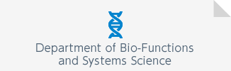Department of Bio-Functions and Systems Science