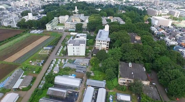 キャンパス空撮動画   ソーシャ...